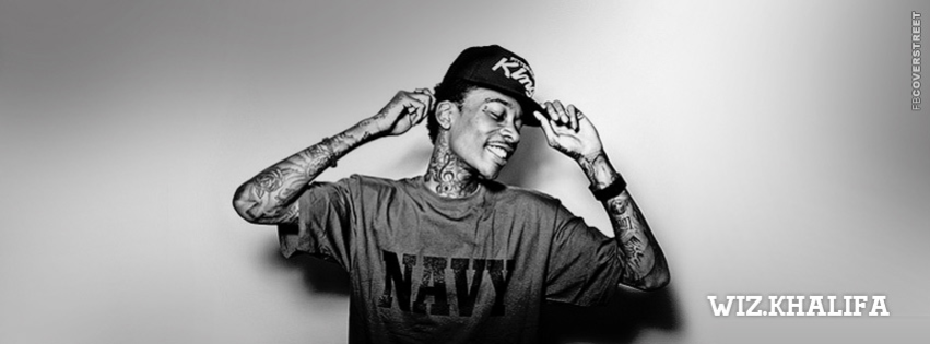 Wiz Khalifa Simple Facebook cover