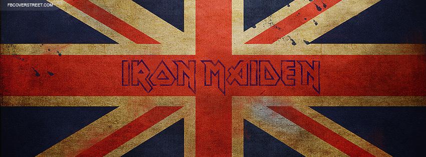 Iron Maiden Logo 2 Facebook Cover
