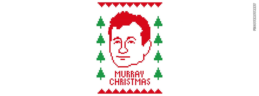 Bill Murray Christmas  Facebook cover
