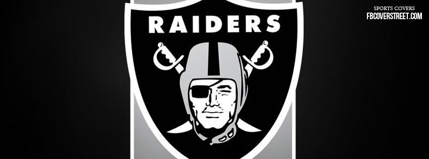 Oakland Raiders Logo 1 Facebook Cover