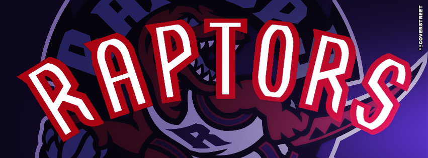 Toronto Raptors Logo Facebook Cover Purple  Facebook cover
