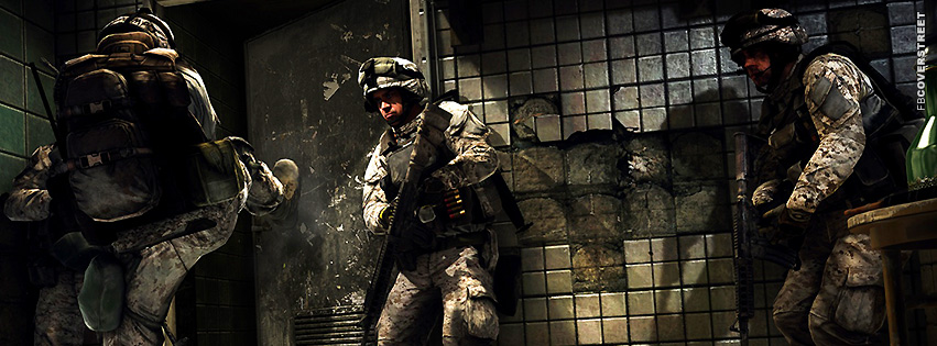 Battlefield 3 Soldiers  Facebook cover