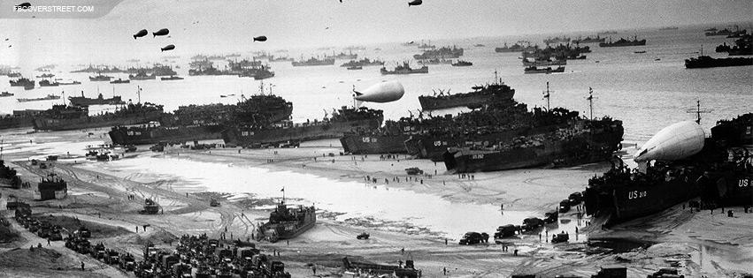 World War II Photo Facebook Cover