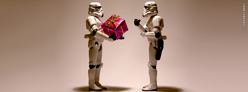 Storm Troopers Christmas Present  Facebook Cover