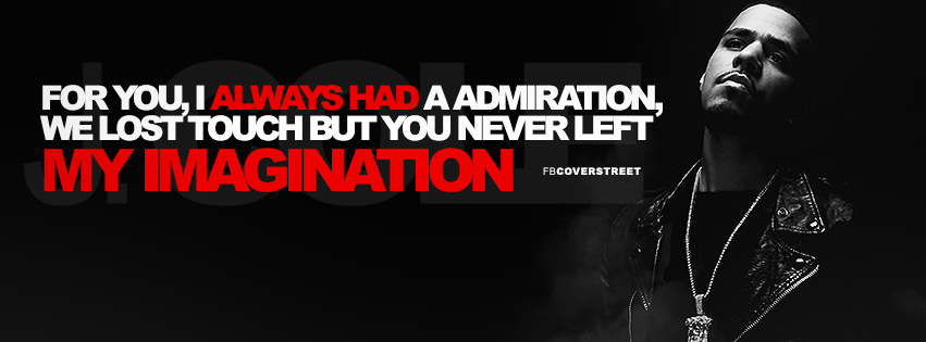 J Cole Like A Star Lyrics Quote Facebook Cover ...