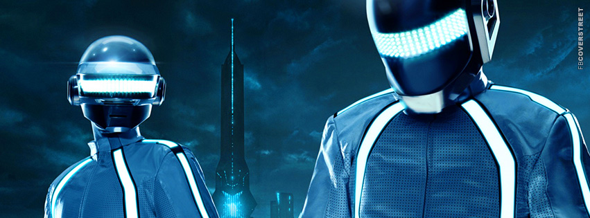 Tron Legacy Daft Punk Movie Facebook cover
