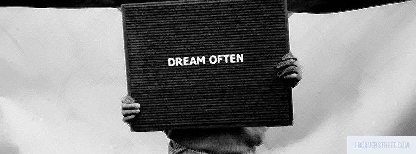 Dream Often Facebook cover