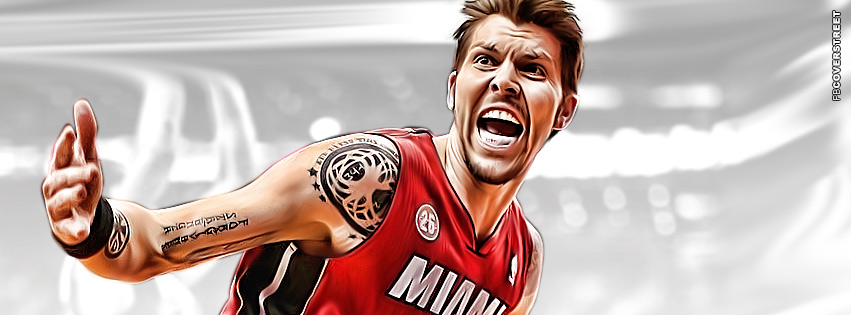 Miami Heat Mike Miller  Facebook cover