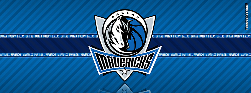 Dallas Mavericks Striped Facebook Cover