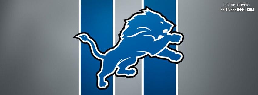 Detroit Lions Logo 1 Facebook cover