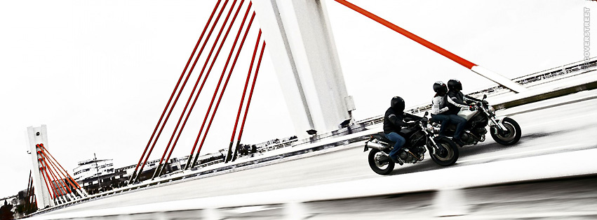2008 Ducati Monster 696 Riding  Facebook cover