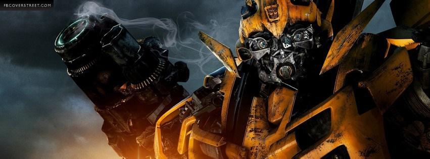 Transformers Revenge of The Fallen Bumblebee Facebook cover