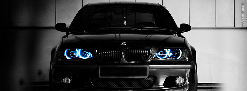 Black Beamer BMW  Facebook Cover