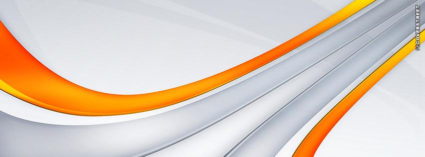 Orange Modern  Facebook cover