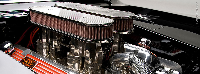 Chevrolet Camaro Engine  Facebook cover