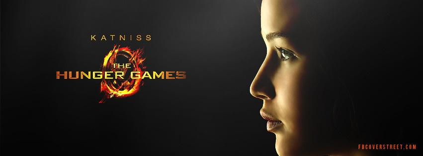 Katniss Hunger Games Facebook Cover