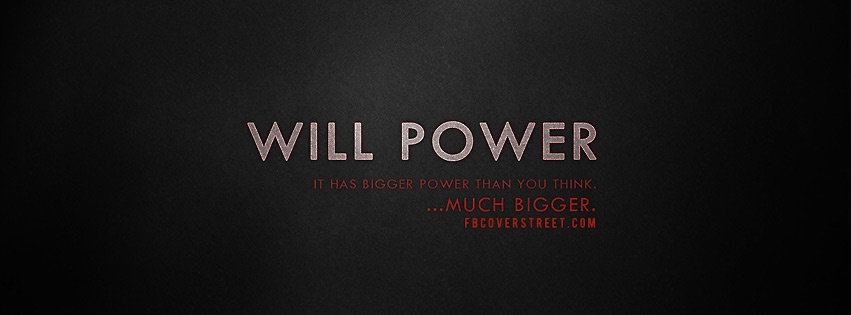 Will Power 2 Facebook Cover