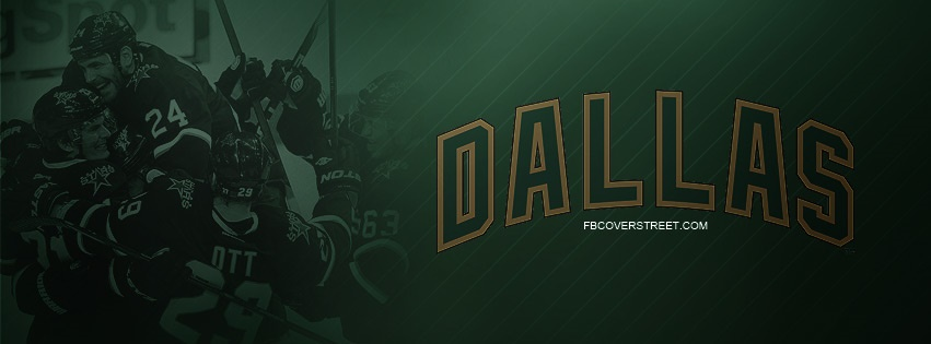 Dallas Stars Team Facebook Cover