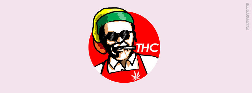 KFC THC Logo Spoof  Facebook cover