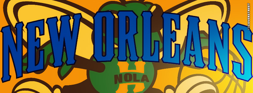 New Orleans Hornets Logo Facebook Cover 2  Facebook cover