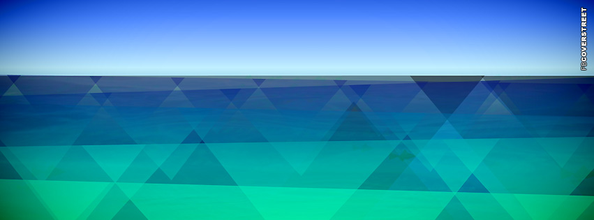 Abstract Blue Landscape  Facebook cover