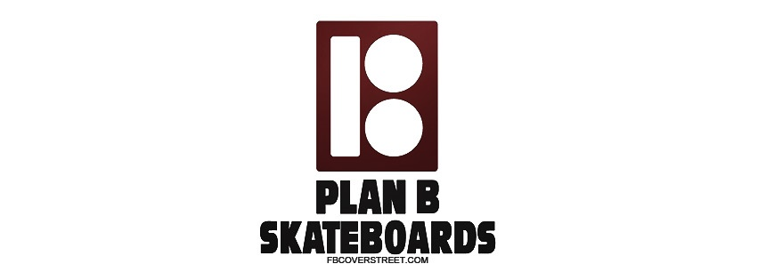 Plan B Skateboards Logo Facebook Cover
