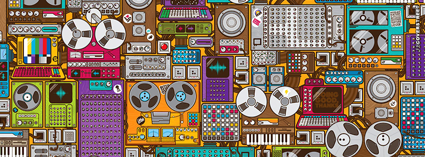 Magnetophone  Facebook Cover