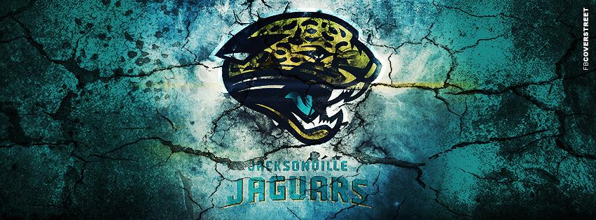 Jacksonville Jaguars Grunged Logo Facebook Cover