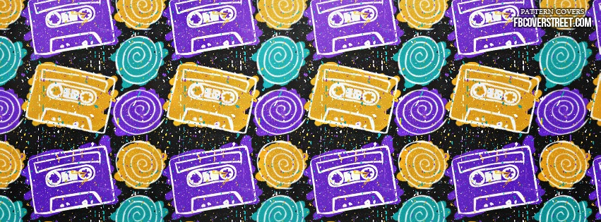 Colorful Drawn Tapes 1 Facebook Cover