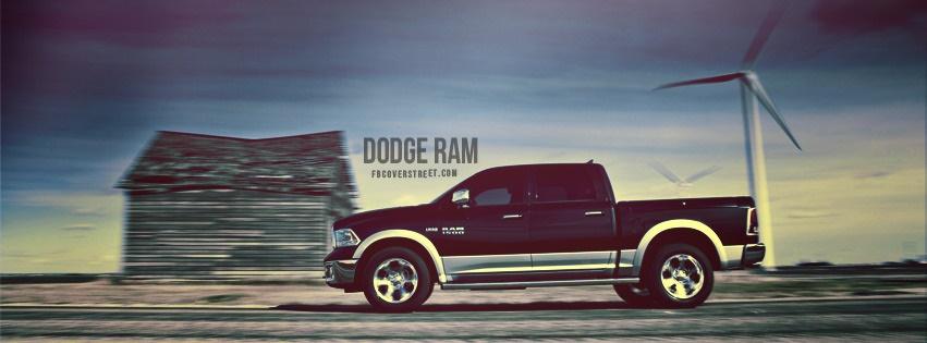 Dodge Ram Facebook cover