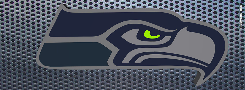 Seattle Seahawks Grate Logo  Facebook cover