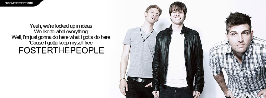 Foster The People Call It What You Want Lyrics Facebook cover