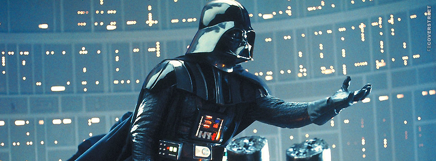 Darth Vader Reaching Out  Facebook Cover