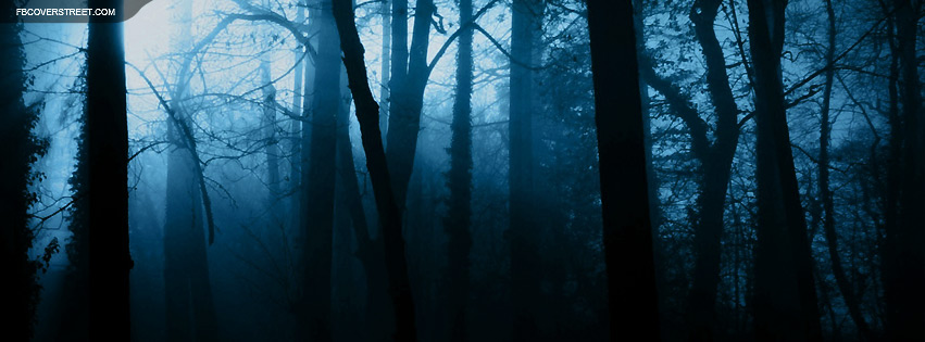 Eerie Forest Facebook Cover