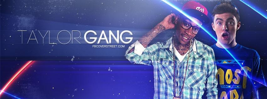 Mac Miller & Wiz Khalifa Taylor Gang Facebook cover