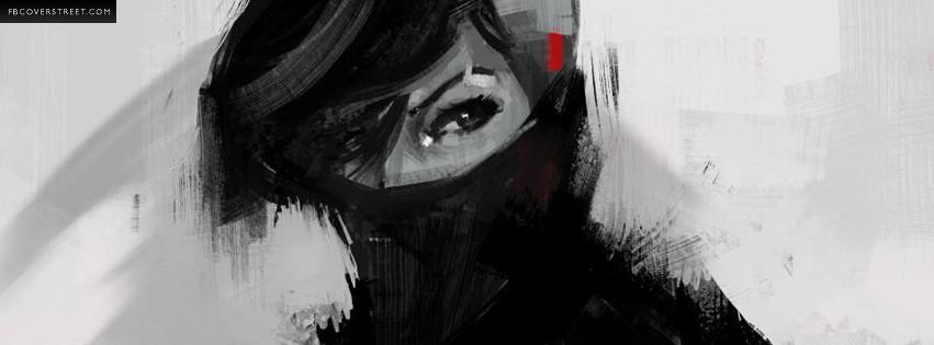 Female Ninja  Facebook cover