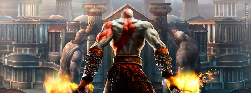 Kratos God of War Facebook Cover