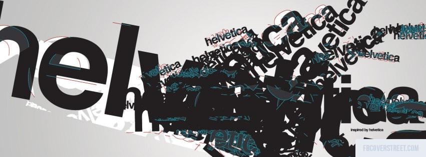 Helvetica Facebook Cover