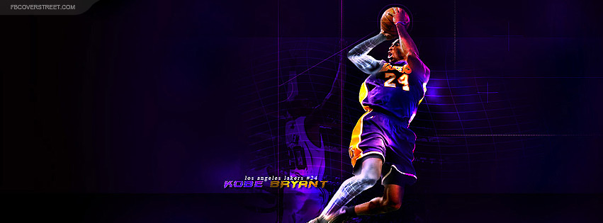 Kobe Bryant Fade Away Facebook cover