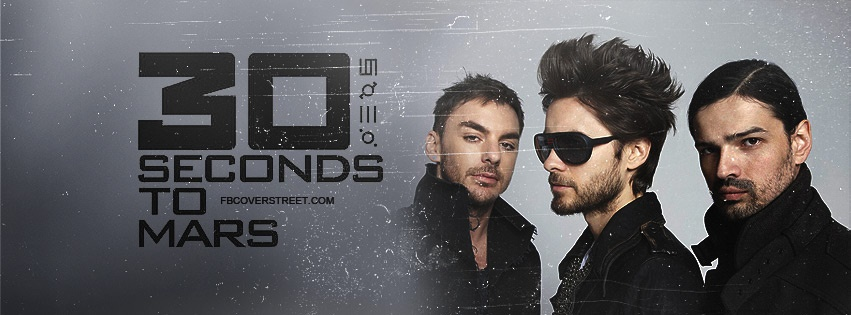 30 Seconds To Mars 3 Facebook cover