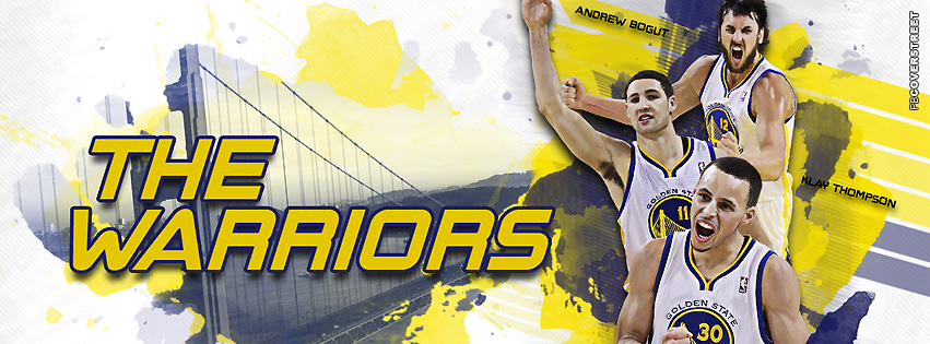 Golden State Warriors Main 3  Facebook Cover