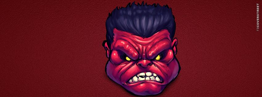 Red Hulk  Facebook Cover