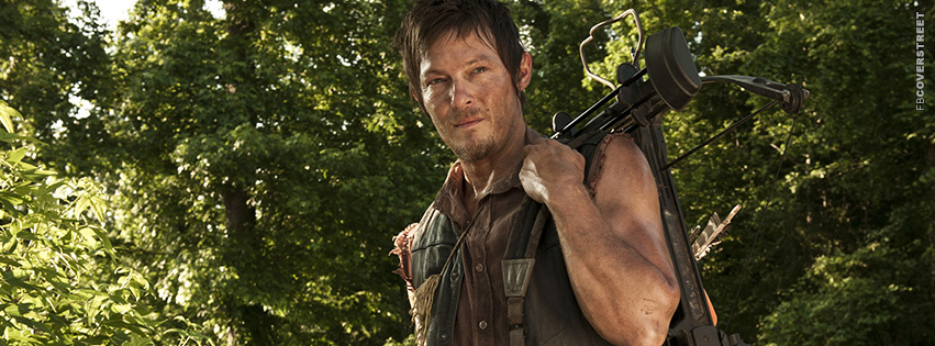 The Walking Dead Daryl Dixon  Facebook Cover