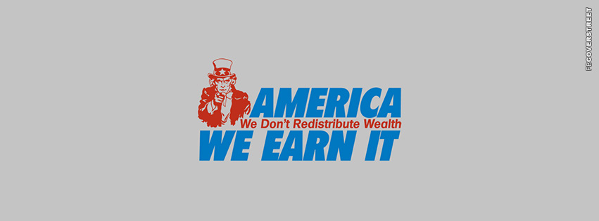We Earn Wealth In America  Facebook cover