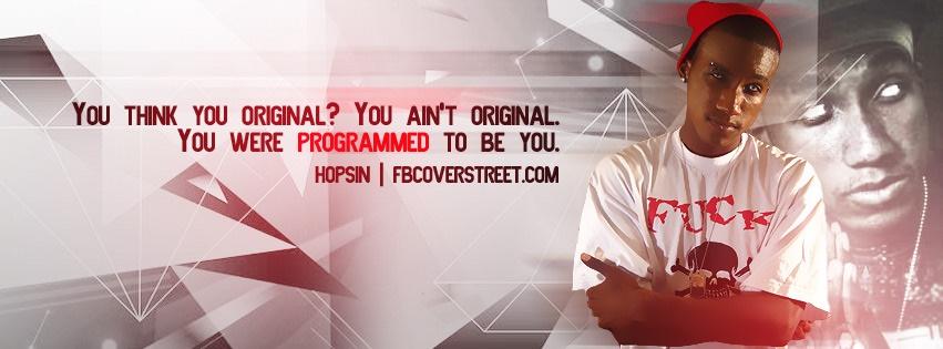 Hopsin You're Programmed Facebook Cover