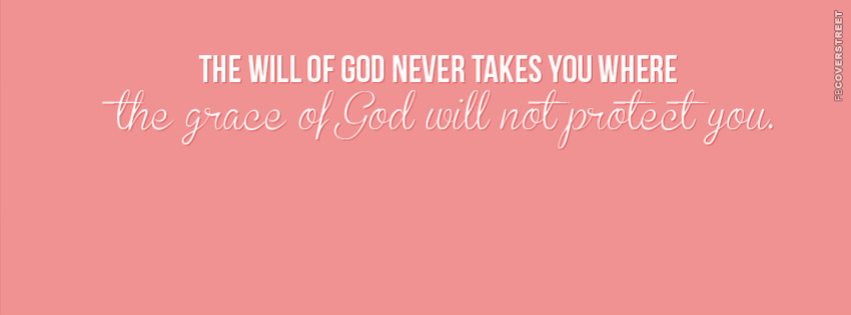 The Will of God  Facebook Cover