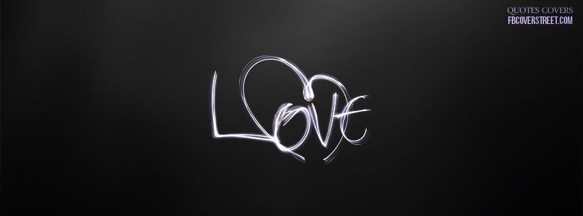 Light Motion Love Facebook Cover
