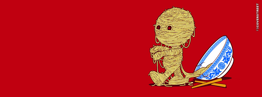 Ramen Zombie  Facebook Cover