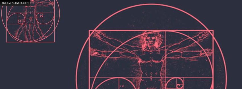 Leonardo Di Vinci Man  Facebook cover