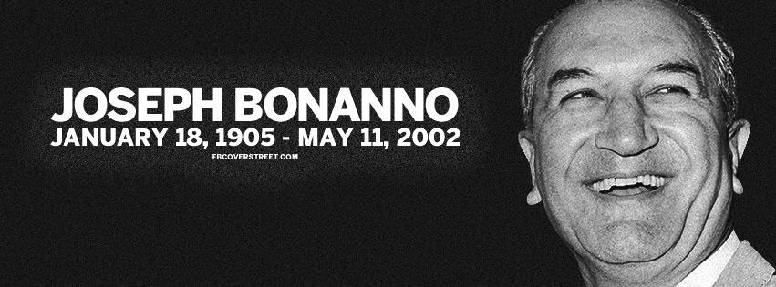 Joseph Bonanno Italian Gangster Facebook cover